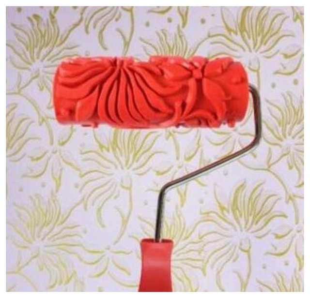 Embossed Paint Roller Wall Painting Runner Wall Decor Diy Tool Pattern 30