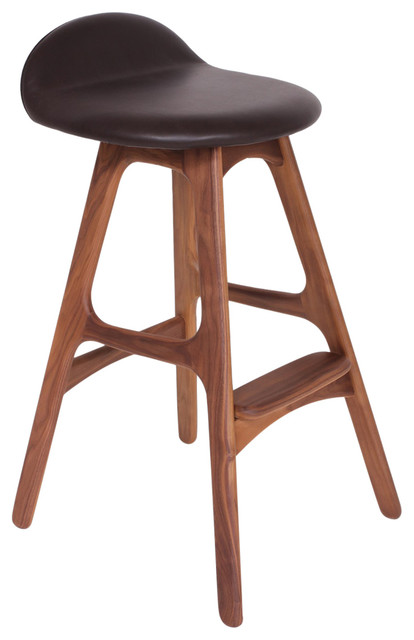 Control Brand Erik Buck Stool Counter Height Brown and  : midcentury bar stools and counter stools from www.houzz.com size 414 x 640 jpeg 39kB