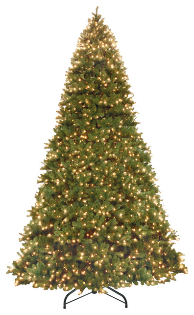 14 Downswept Douglas Fir Tree With Dual Color Led Lights
