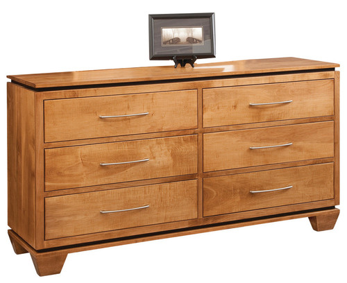 Binghamton 6-Drawer Dresser, Autumn