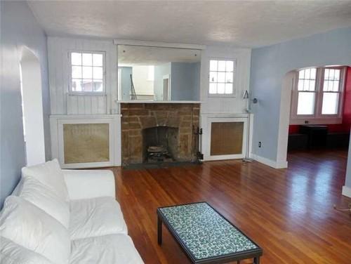 Doorway Into Sunroom From Living Room