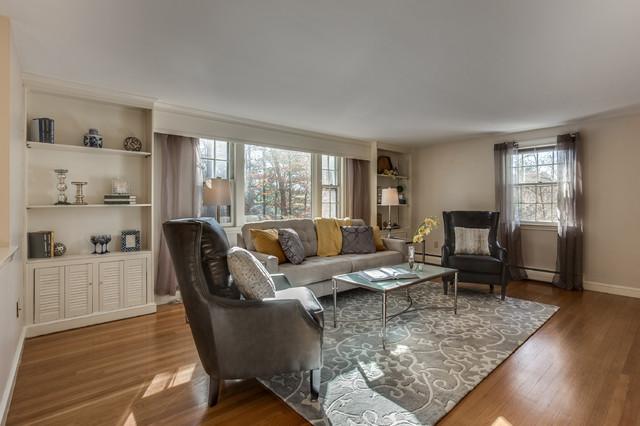 Living room (after) transitional