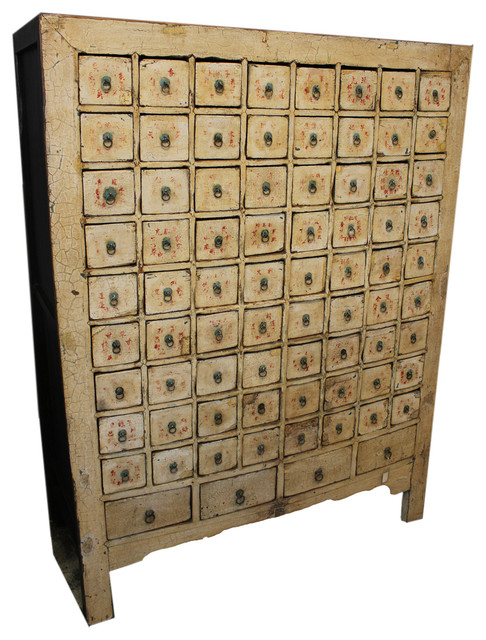 Consigned Antique, Mongolian Apothecary Cabinet
