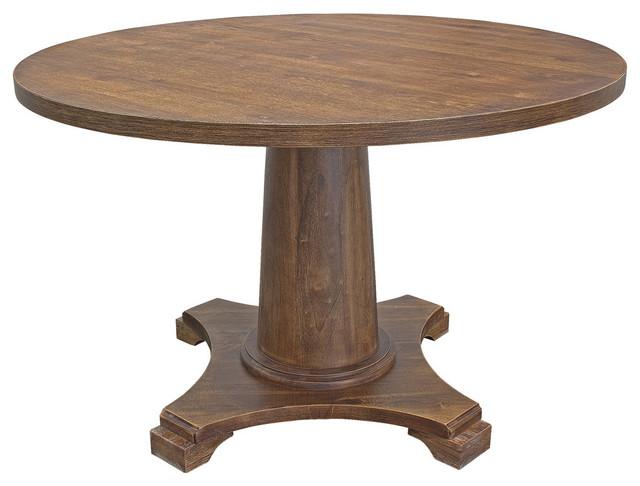 Carey Antique Style Natural Oak Round
