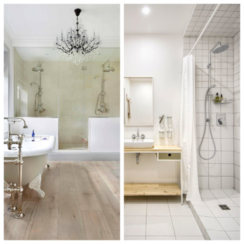 Cuarto de ba o duchas dobles s o no - Ducha doble ...