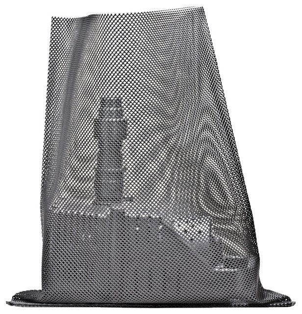 Pondmaster mesh pump bag contemporary outdoor fountain for Pond filter accessories