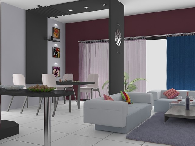 Sandhya 39 s bangalore apartment interior designs modern for 1 bhk room interior design ideas