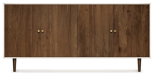 MiMo 4 Door Dresser by Copeland Furniture, Bronze
