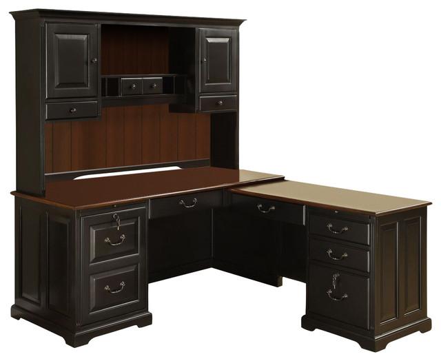 Riverside Furniture Bridgeport Ldesk Computer Workstation