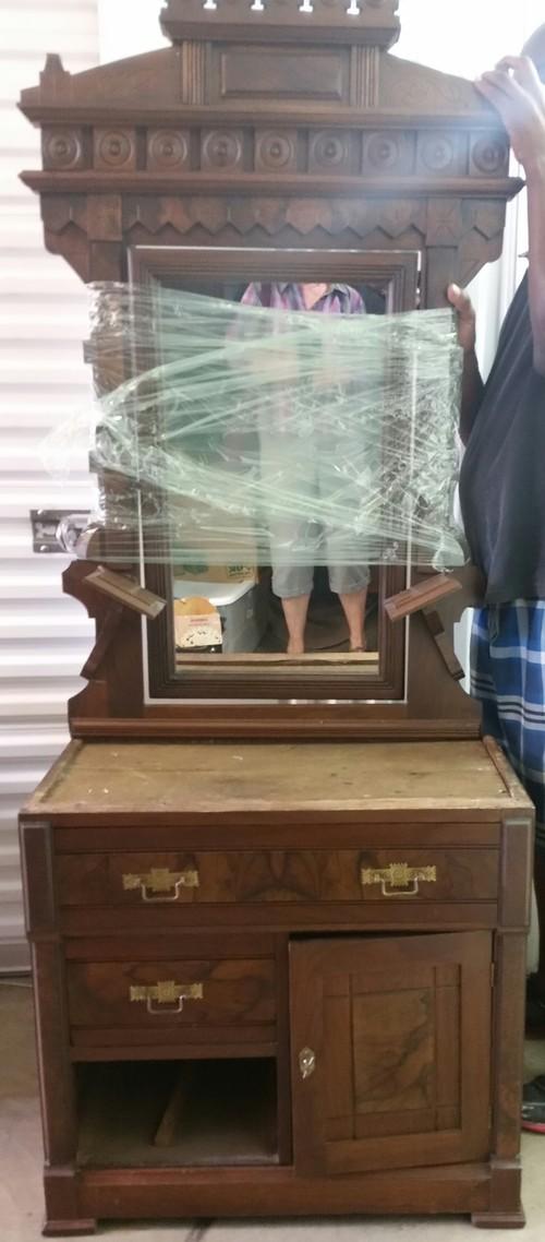 Vessel Sink For Antique Washstand