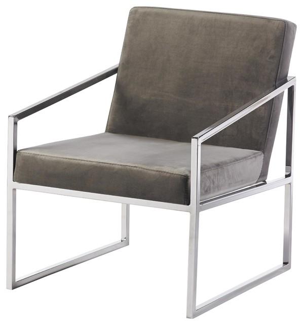 Lobby Brown Armchair