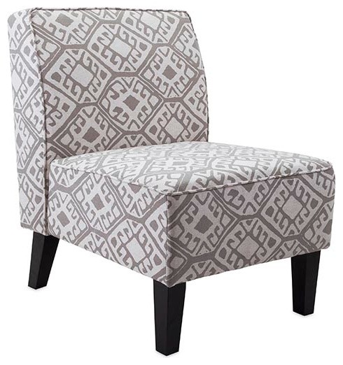 Nadine Armless Chair Eclectic Armchairs And Accent