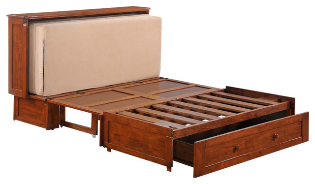 Night And Day Furniture Murphy Cabinet Bed With Mattress