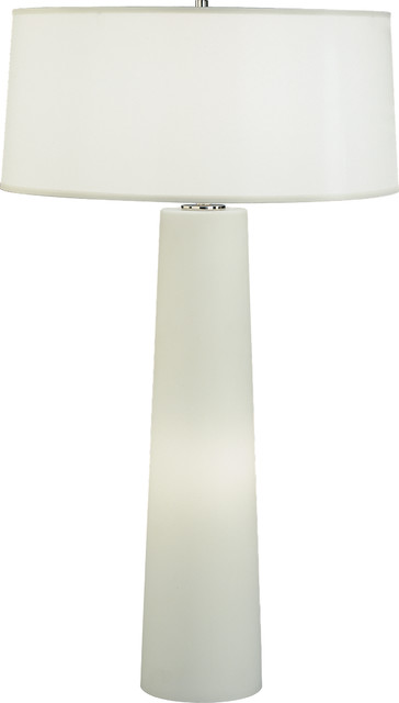 robert abbey rico espinet olinda tall frosted glass table lamp white