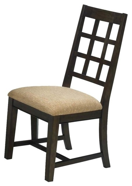 Progressive Casual Traditions Dining Side Chair in Walnut (Set of 2)