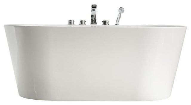 """Streamline 58"""" Freestanding Faucet And Tub Set."""