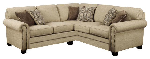 Shop houzz emerald home lacie 2 piece set sectional for Lsf home designs furniture
