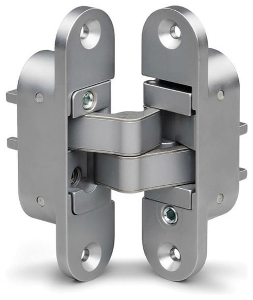 Shop Houzz | Sugatsune Susgatsune 3 Way Adjustable Concealed Hinge Silver - Hinges