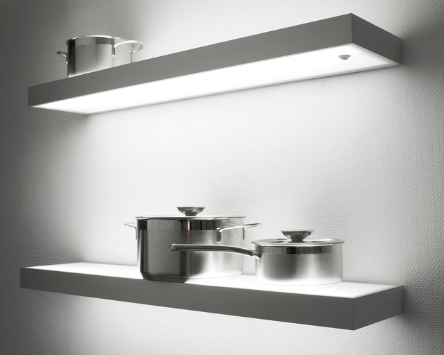 Illuminated Led Gl Box Shelf Light Contemporary Other