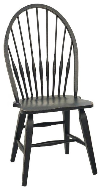 Attic Heirlooms Windsor Dining Side Chair.