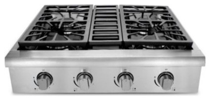 "30"" Pro Style Gas Range Top/cook Top, 30""."