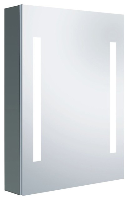 "Alexander Medicine Cabinet With Led Mirror, 22""x30""."