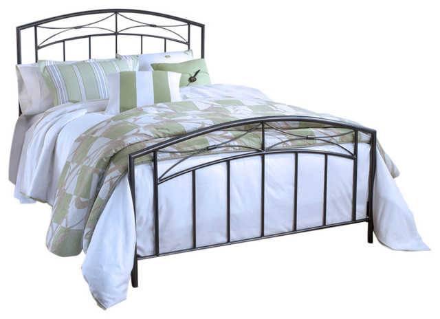 Morris Bed Set, Rails Not Included.