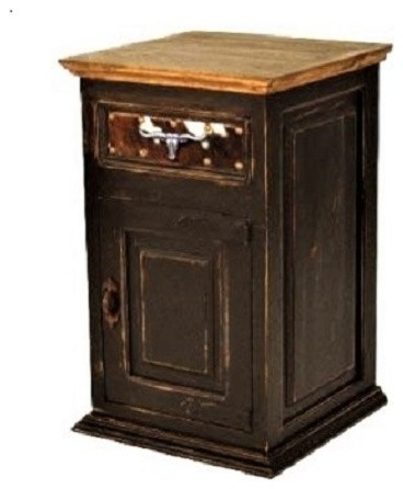 Jasper Collection Western Nightstand Light Wax
