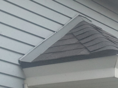 New Roof Meeting Siding Trim Issue