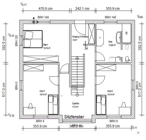 grundriss f r efh in hanglage feedback u a zu. Black Bedroom Furniture Sets. Home Design Ideas