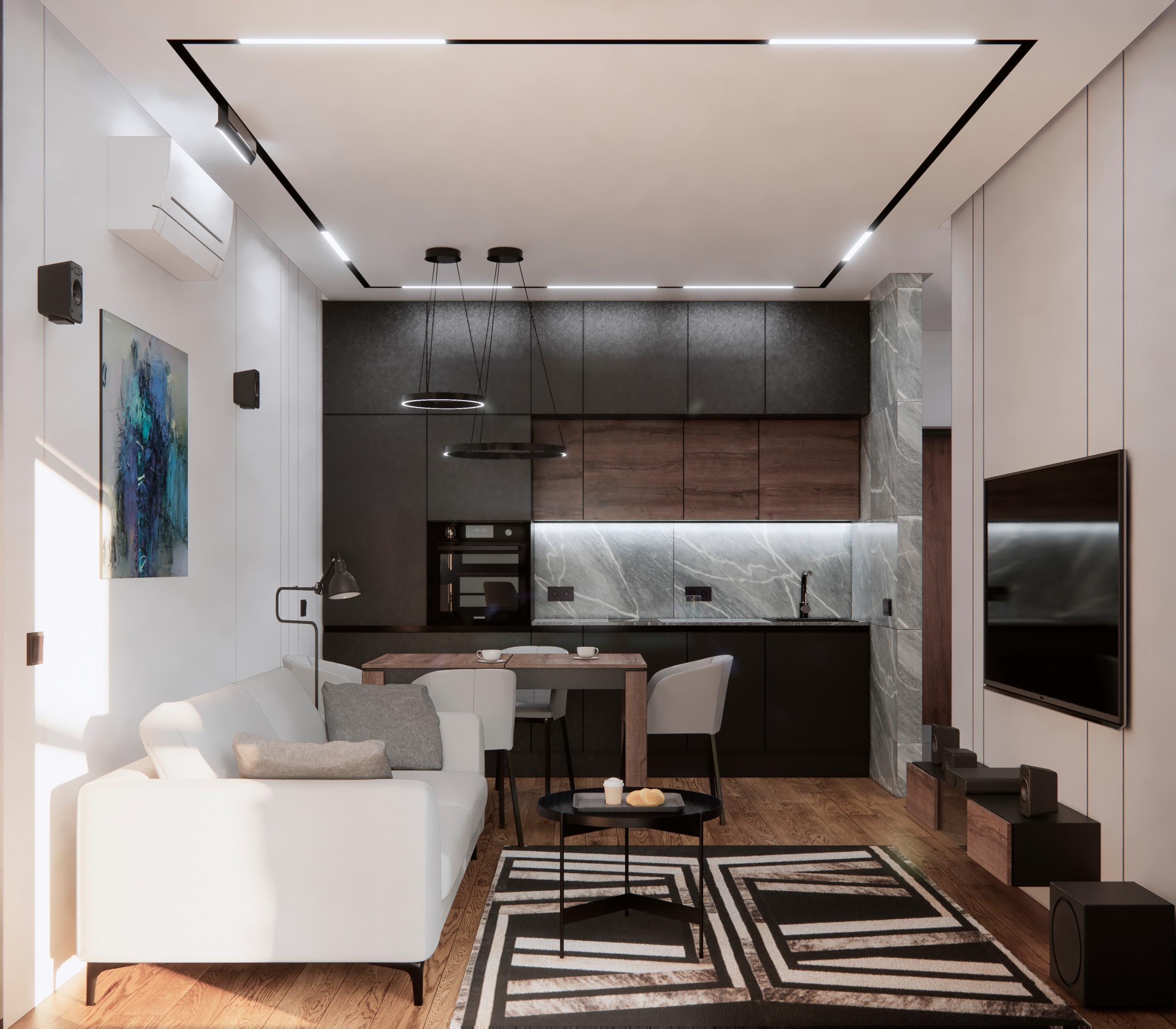 Двухкомнатная квартира на Лесопарковой