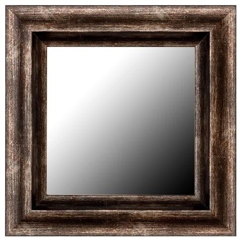 Need ideas for bathroom mirror frame.