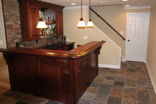 Simple Finished Basements Blue Moon With Finished Basement Bar Ideas