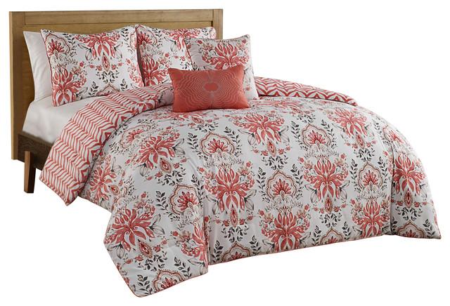 Avondale Manor Tabitha 5 Piece Comforter Set Comforters