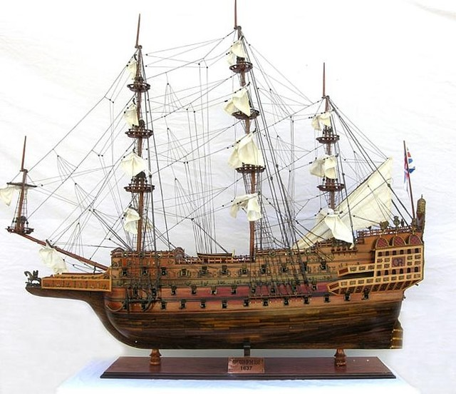Traditional Antique Hms Sovereign