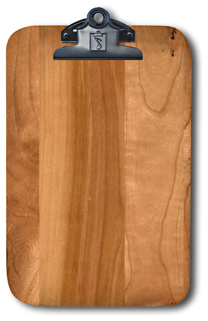 cherry wood magnetic clipboard refrigerator magnet extraordinaire