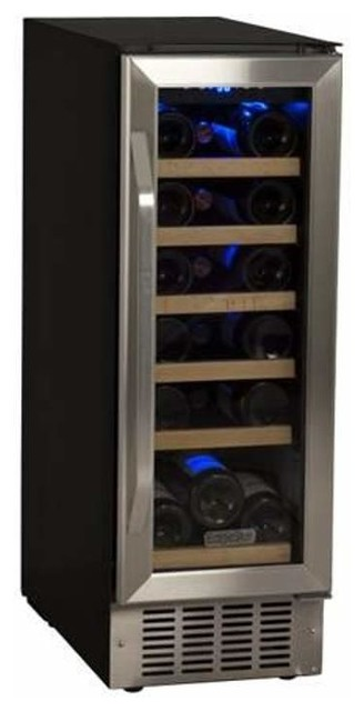 18-Bottle Built-In Wine Cooler.