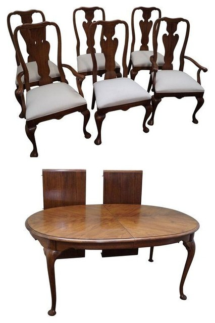 Thomasville Traditional Queen Anne Dining Set Traditional