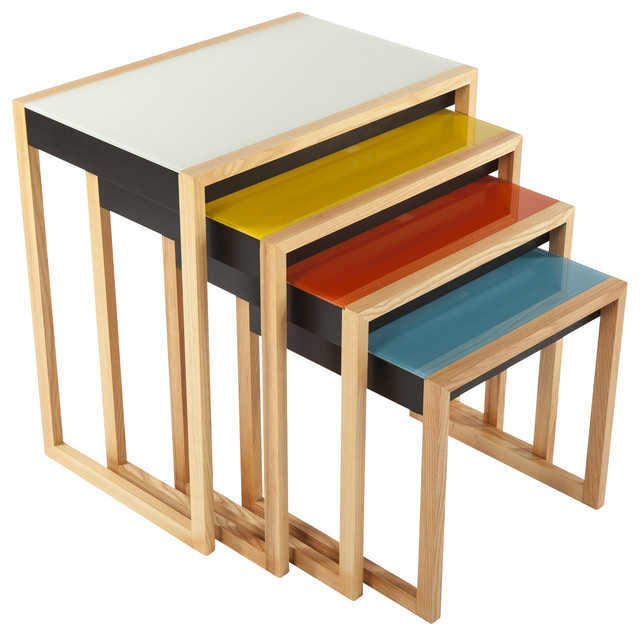 Shop Houzz Control Brand Bayer Nesting Table Set