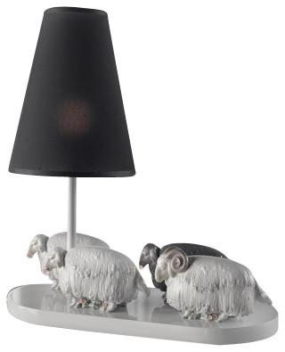 Lladro Flock of Sheep Lamp - Table Lamps - by Biggs Ltd.