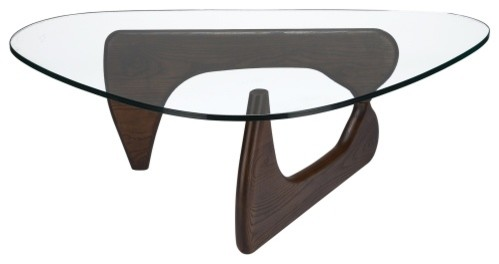 Poly And Bark Sculpture Coffee Table Dark Midcentury Coffee Tables