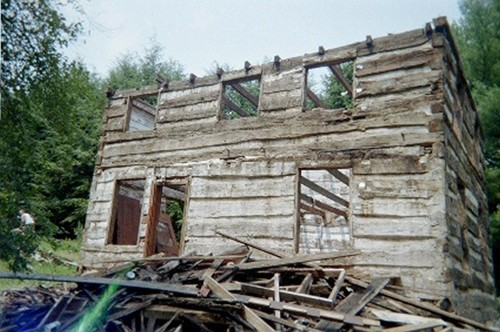 Antique log cabin restoration for Log cabin restoration