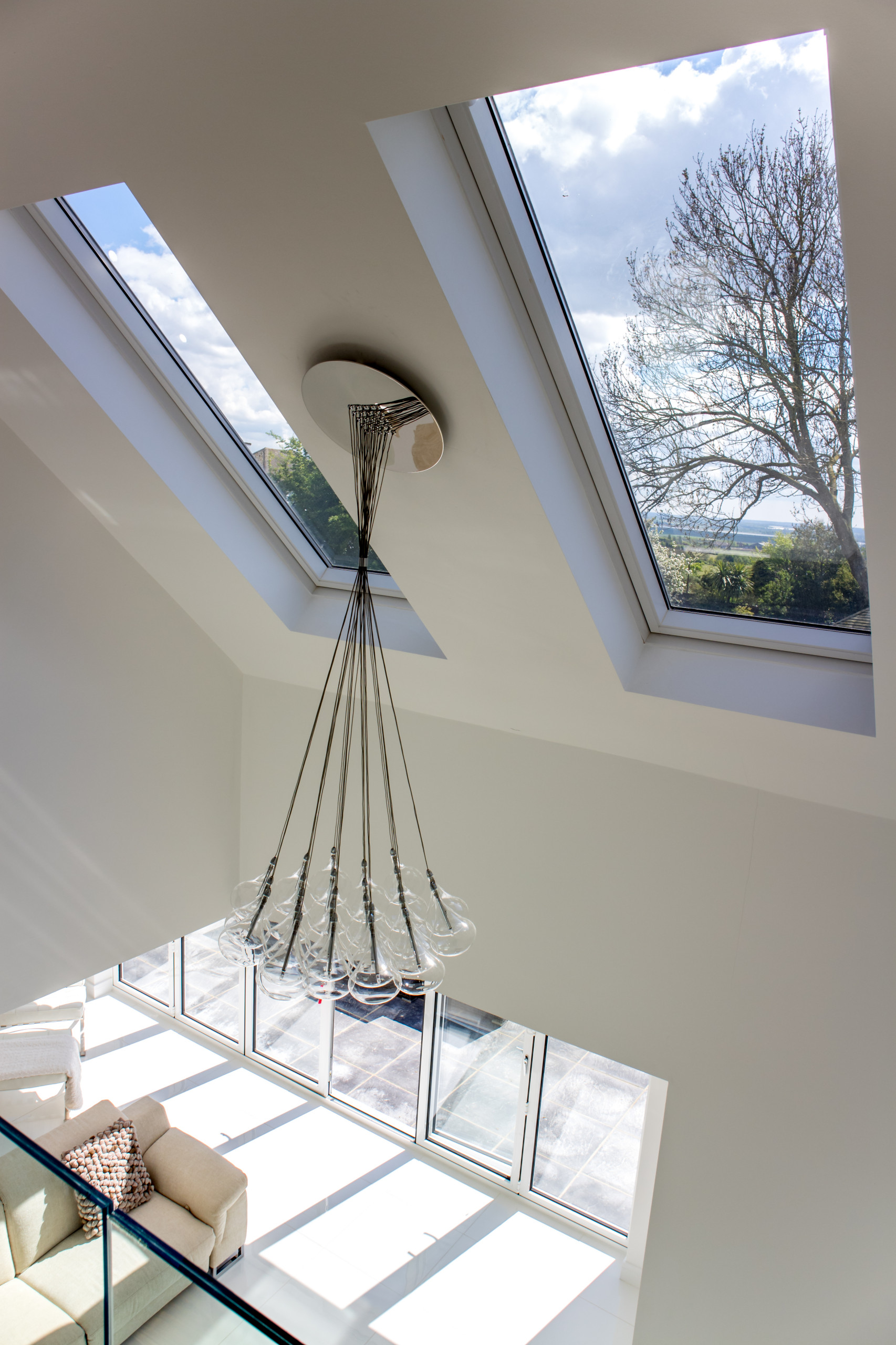 Velux over the gallery