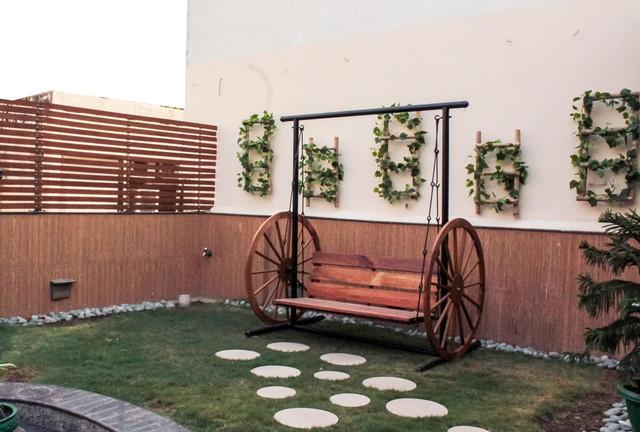 A Traditional Indian Terrace Garden, Terrace Garden Design