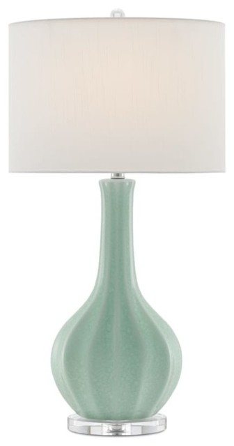 "Currey And Company 6000-0163 Sionna 1-Light 31-3/4"" High Vase Table Lamp."