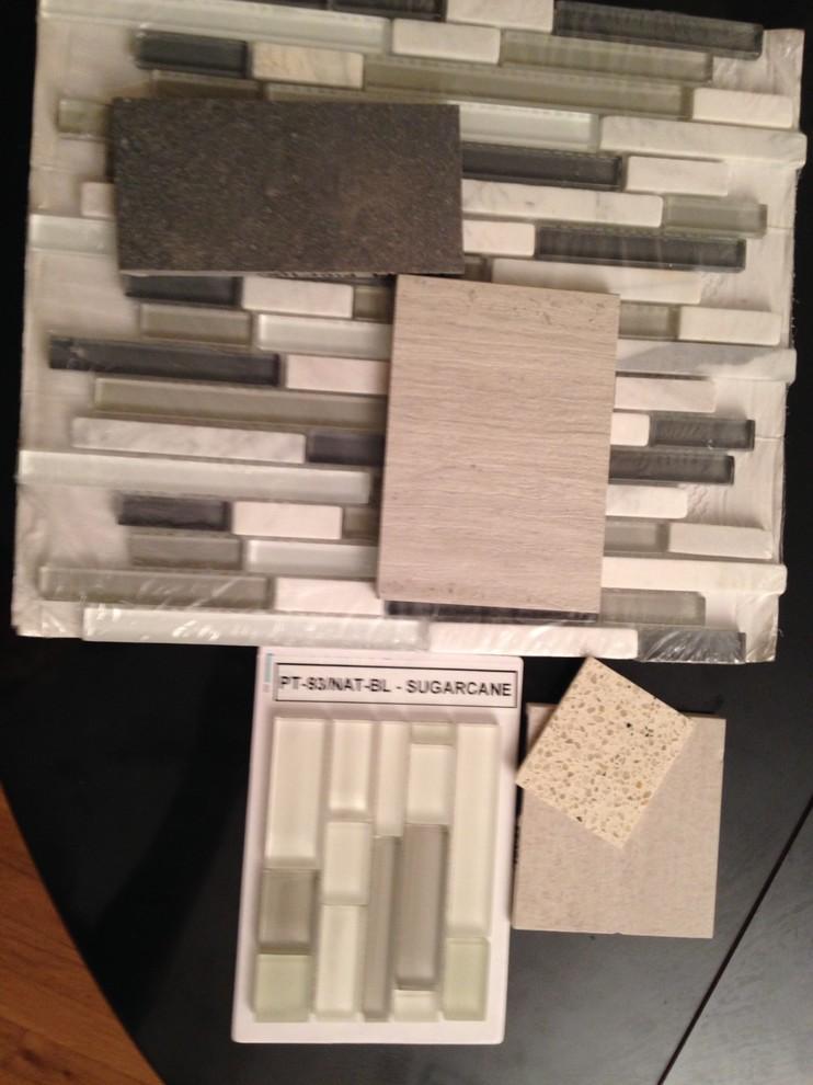 Large & small bath tile presentation