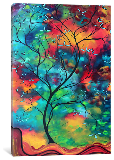 """""""Colored Inspiration Gallery"""" by Megan Duncanson, 26x18x0.75"""""""
