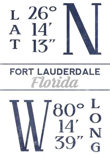 Shop Houzz Lantern Press Quot Fort Lauderdale Florida
