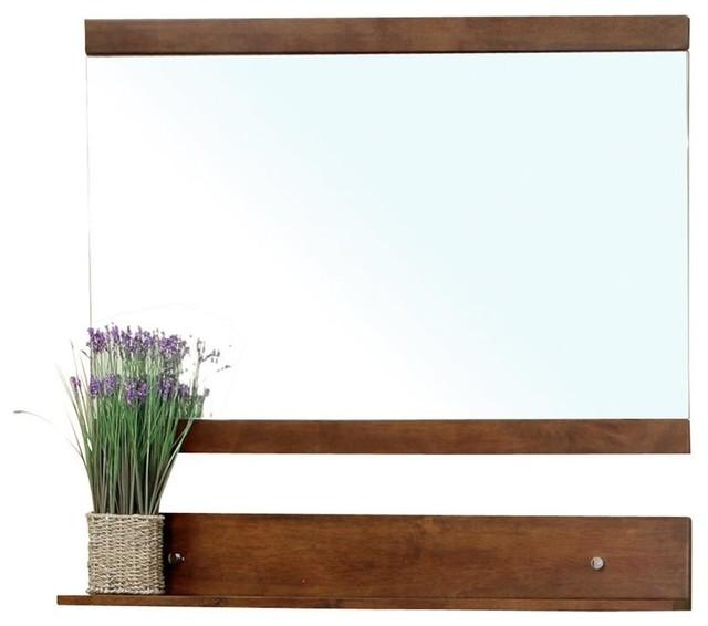 Bellaterra Solid Wood Frame Mirror
