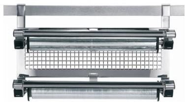 Stainless Steel Kitchen Foil Holder / Wrap Dispenser